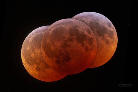 Imágenes del eclipse total de Luna tomadas desde Cabo ...