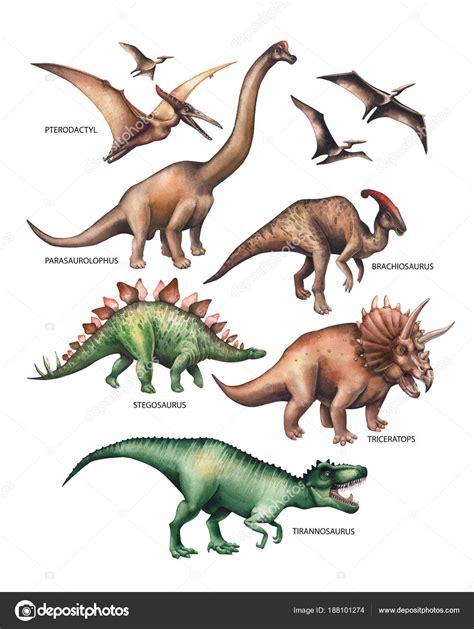 Imágenes: dinosaurios para imprimir   Dinosaurio acuarela ...