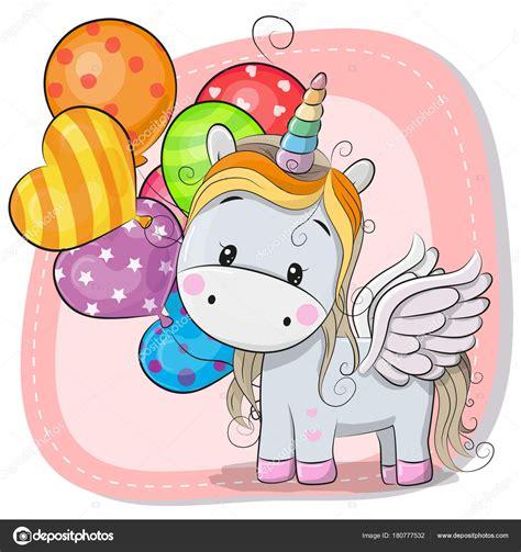 Imágenes: divujos | Lindo unicornio de dibujos animados ...