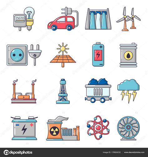 Imágenes: fuentes de energia   Los iconos de fuentes de ...