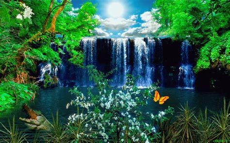 imagenes gif con movimiento de paisajes cascada   Imagem ...