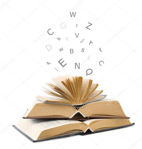 Imágenes: libros abiertos | Libros abiertos aislados en ...