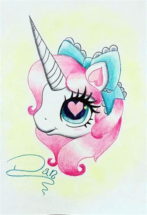Imagenes Para Dibujar A Color De Unicornio
