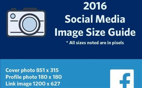 Imágenes para Redes Sociales, los tamaños idóneos en 2016