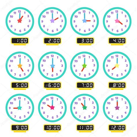 Imágenes: reloj mostrando la hora | reloj que muestra cada ...