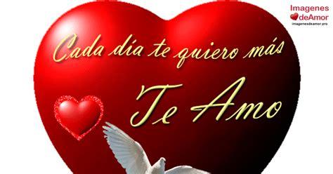 Imágenes románticas de corazones con frase TE AMO
