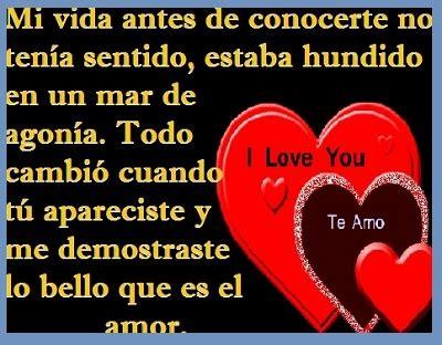 Imágenes románticas y frases tiernas de amor con ...