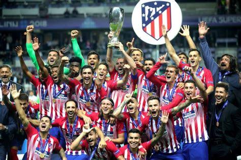 Imágenes: Supercopa de Europa, Atlético de Madrid vs Real ...