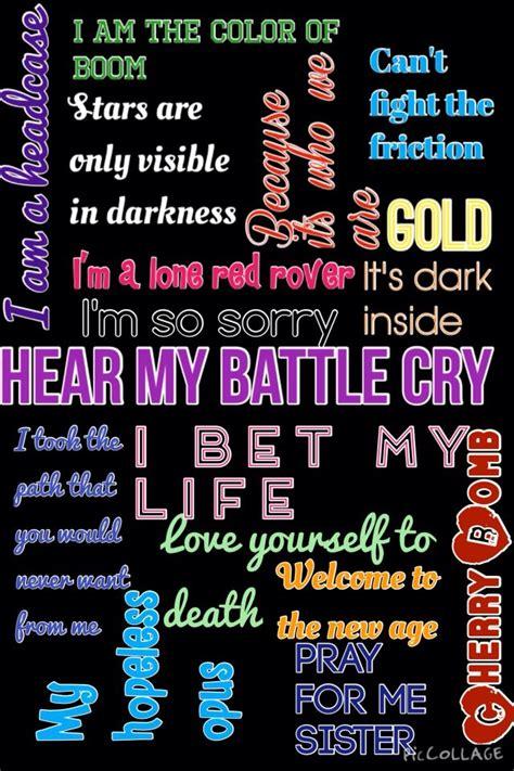 Imagine Dragons lyrics~ Gold, I Bet my Life, Battle Cry, I ...