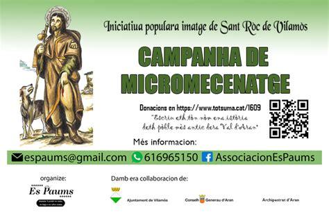 Imatge de Sant Roc a Vilamòs  Vall d Aran