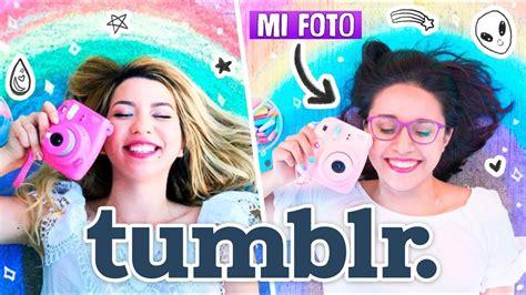 IMITANDO FOTOS TUMBLR COLORIDAS  Craftingeek   YouTube