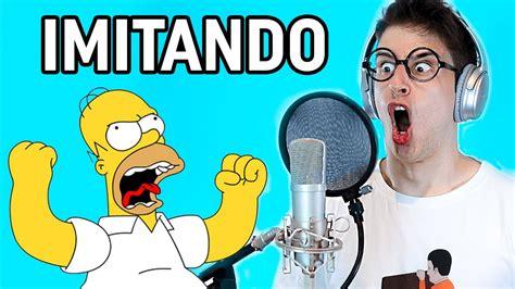 IMITANDO VOCES DE DIBUJOS ANIMADOS FAMOSOS!   YouTube