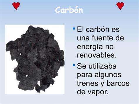 impacto de carbon como fuente de energia no renovable ...