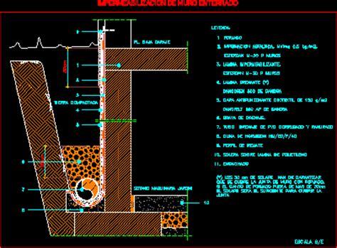 Impermeabilizacion de muro enterrado  31.13 KB    Bibliocad