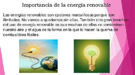 Importancia de las Energías limpias y Renovables