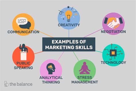Important Marketing Skills That Employers Value