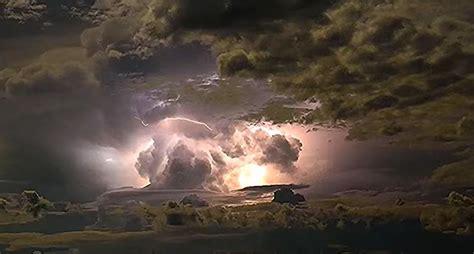Impresionante video de una tormenta eléctrica en Australia ...