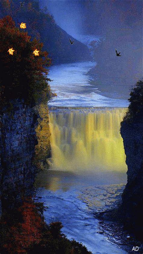 Impresionantes imágenes de paisajes en movimiento, Gifs de ...
