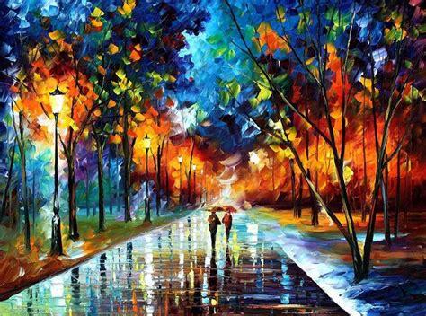 Impresionantes pinturas al óleo usando unicamente un ...