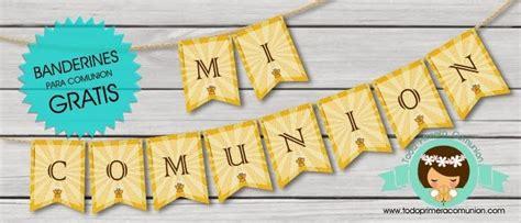 Imprimible Gratis: Banderines para Comunión » Todo Primera ...