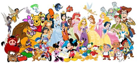 Imprimibles de personajes Disney.   Ideas y material ...