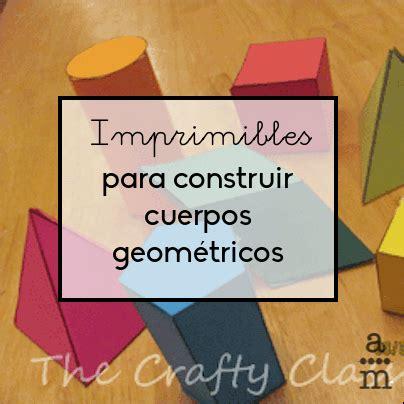 Imprimibles para construir cuerpos geométricos ...