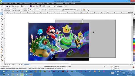 Imprimir imagenes para sublimar desde corel   YouTube