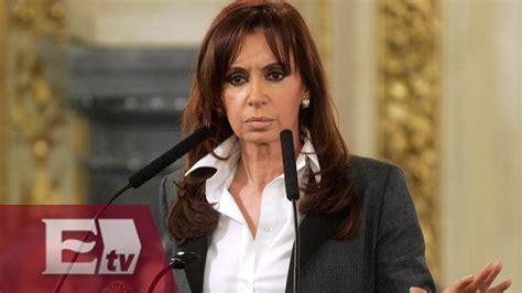 Imputada presidenta de Argentina por encubrimiento de ...