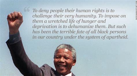 In Mandela s own words