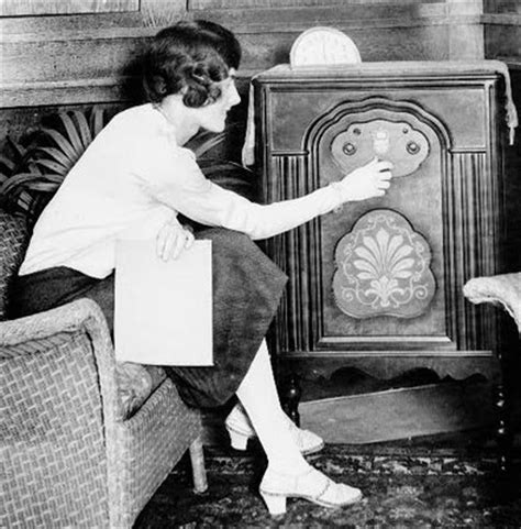 In the 1920 s the radio was invented and people could now ...