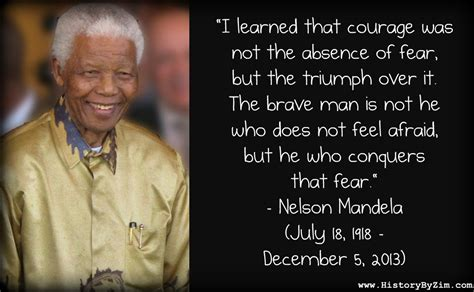 In Their Words – Nelson Mandela – History By Zim