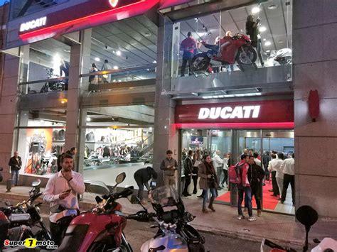 Inauguración de la nueva tienda DUCATI MADRID   Super7moto