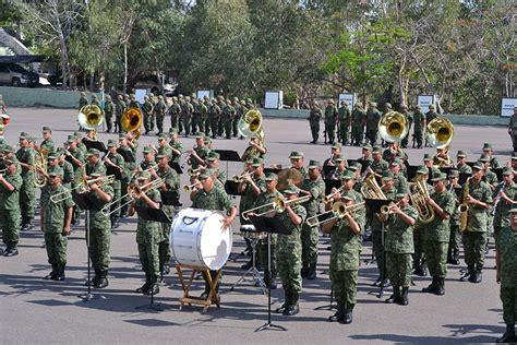 Inauguran Concurso de Bandas de Música del Ejército ...