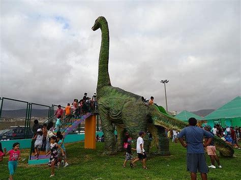 Inauguran parque temático de dinosaurios en la ciudad de ...