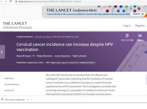 Incidencia de cáncer cervical puede aumentar a pesar de la ...