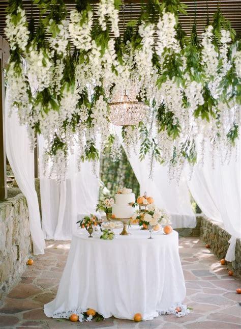 INCREDIBLE HANGING WEDDING FLOWERS | It Girl Weddings