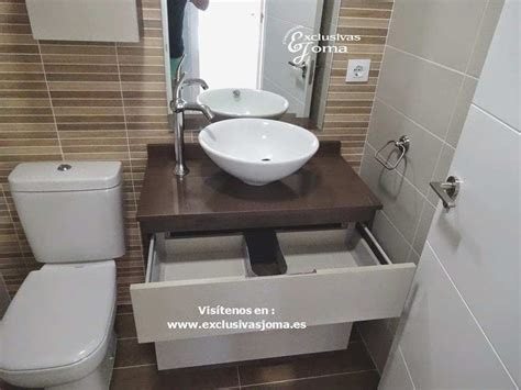 Increíble Mueble Baño Lavabo sobre Encimera Con Respecto A ...