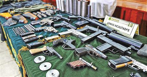 Incrementarán operativos para detectar armas ilegales