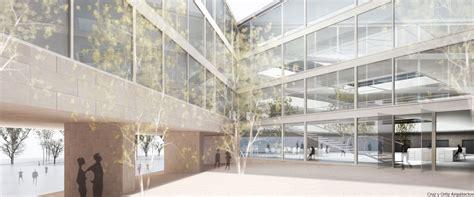 Incubadora de Empresas Diseño interior de patio de muro de ...