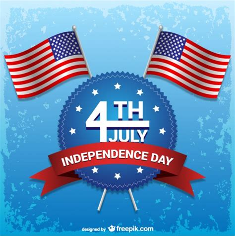 Independence day 4th of july vector Vector | Free Download