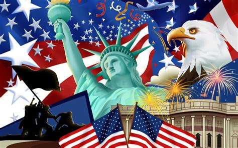 Independence Day   United States Of America Wallpaper ...