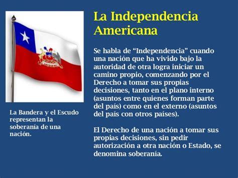 Independencia Americana y de Chile