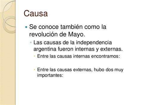 Independencia de argentina