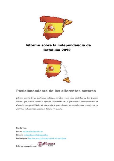 independencia de cataluña 2012