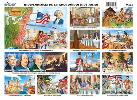 Independencia de Estados Unidos  4 julio    Ediciones Bob