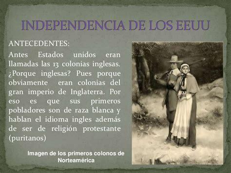 Independencia de los estados unidos