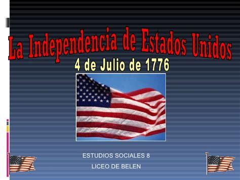 Independencia usa 1