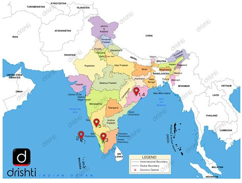 India Map : May  II  2019 : Learning Through Maps