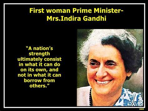 Indira Gandhi Quotes On Women. QuotesGram
