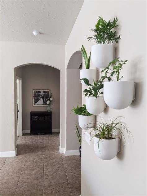 Indoor Plant Wall   Modern Boho Planter Pots   The DIY ...